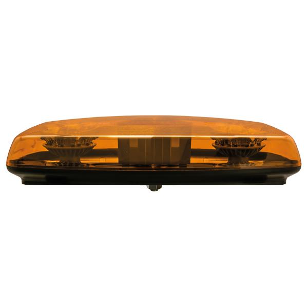Warnbalken-LED, MultiLED Mini, 10-30V, Warn- u.Haubenfarbe gelb, Zentralbolzenmontage