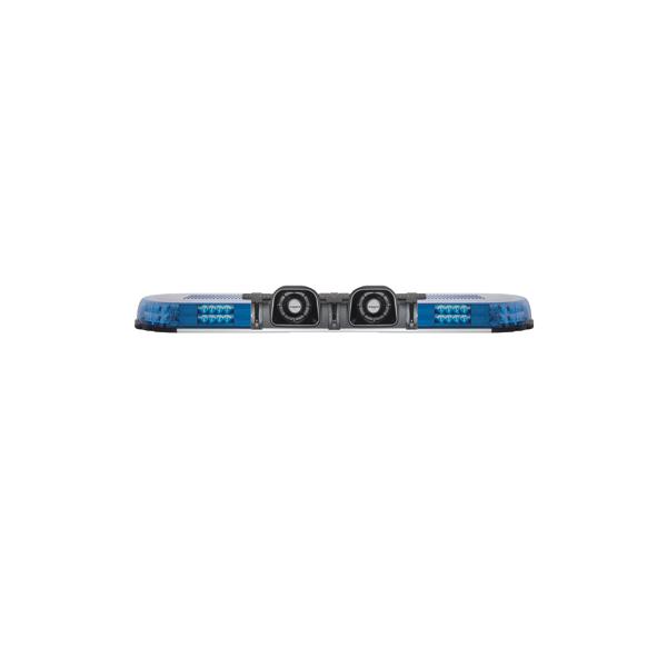 XPERT 4PRO-2PF, L=1089mm, 10-30VDC, Warn-u.Haubenfarbe Blau, 2x Akustikcenter 50W