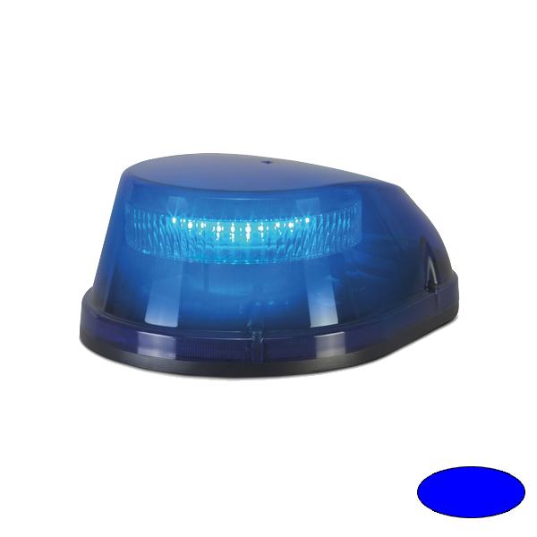 LED-Kennleuchte ARS, 12VDC, Warn-und Haubenfarbe Blau, 3-Lochbefestigung