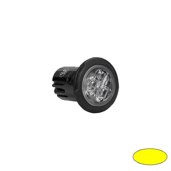 LED-Blitzleuchte BULLS FLASH BL99-EA, 10-30VDC, Warnfarbe gelb