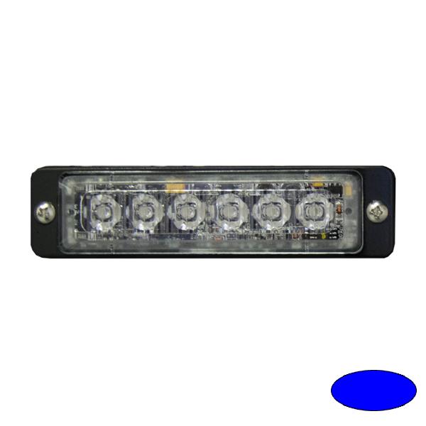 LED-Blitzleuchte ULTRA SLIM-EB, 10-30VDC, Warnfarbe blau