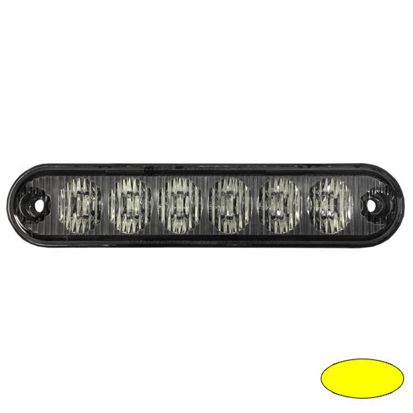LED-Blitzleuchte EXTRA SLIM-EA, 10-30VDC, Warnfarbe gelb
