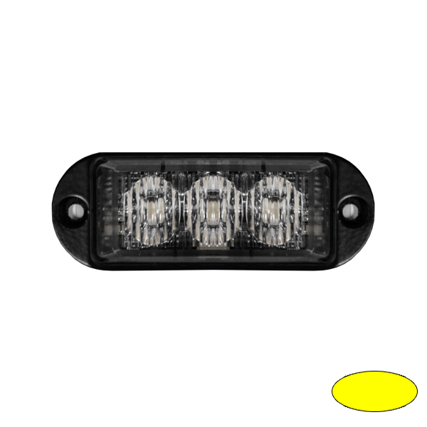 LED-Blitzleuchte ULTRA SLIM MINI-EA, 10-30VDC, Warnfarbe gelb