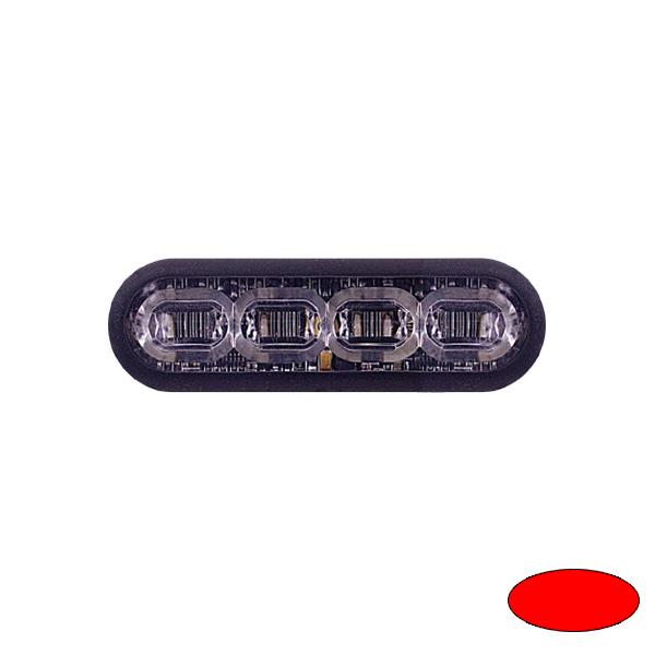 LED-Blitzleuchte mPOWER3, 10-30VDC, Sonderfarbe Rot, Klebe-Montage