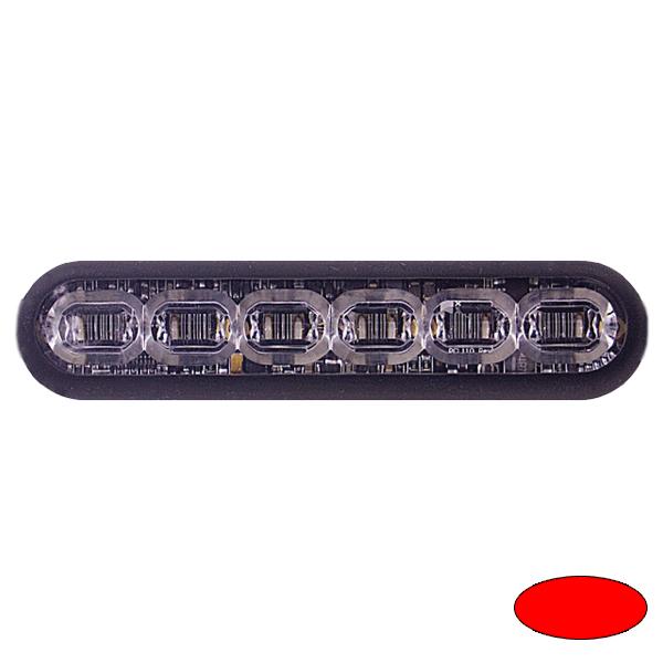 LED-Blitzleuchte mPOWER4, 10-30VDC, Sonderfarbe Rot, Klebe-Montage