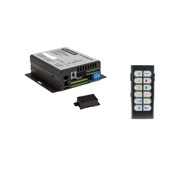 EUROSMART GEN2.2 Bedien-, Akustik- u. Leistungssystem, 24VDC, Version 12B-2, Deutschland