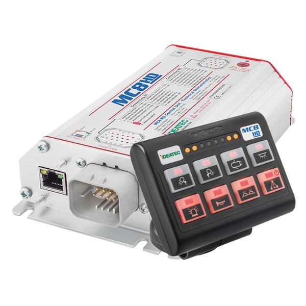 MC8-HD Bedien- u. Leistungssystem Set , 10-30VDC