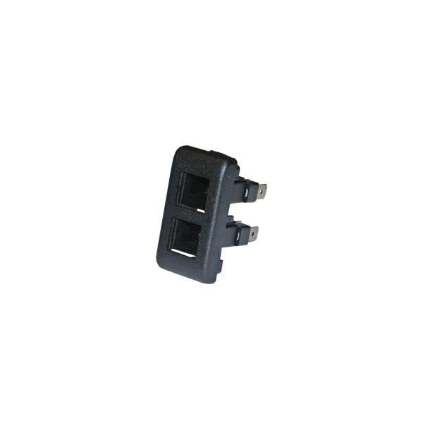Kontrollleuchtenelement für Montagerahmen der Wippschalter/Taster