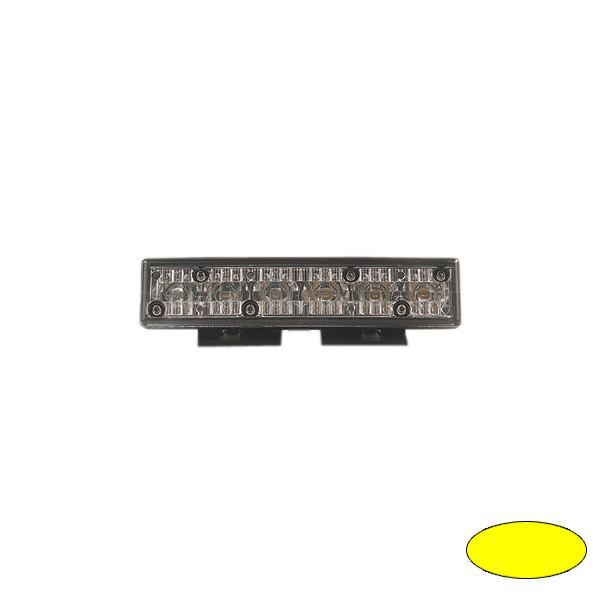 GHOST, 10-30VDC, Warnfarbe gelb, schwarzes Gehäuse, Universalbefestigung