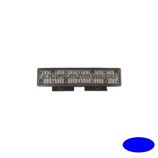 GHOST, 10-30VDC, Warnfarbe blau, schwarzes Gehäuse, Universalbefestigung