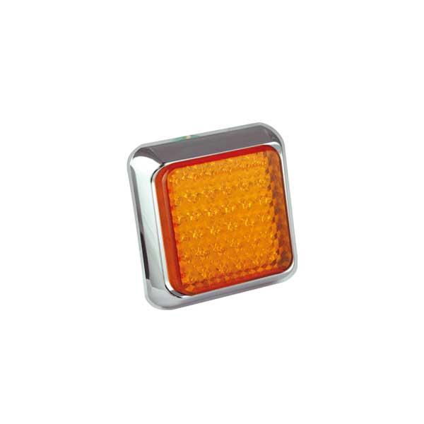 125CAME LED-Fahrtrichtungsanzeiger, Montagerahmen chrom