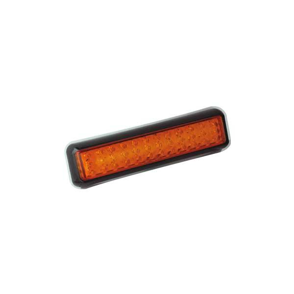 200BAME LED-Fahrtrichtungsanzeiger, Montagerahmen schwarz