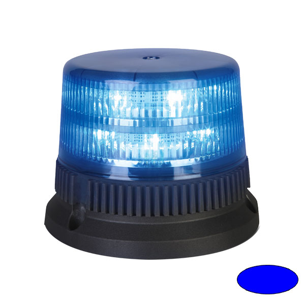 FLEX 6+6 T2, 12VDC, Warnfarbe blau, 3-Lochbefestigung