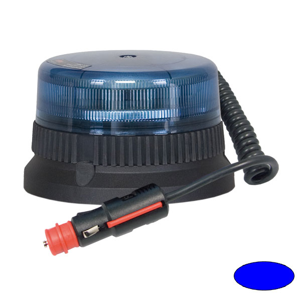 FLEXILED 9 T1, 12VDC, Warnfarbe blau, Magnethalterung