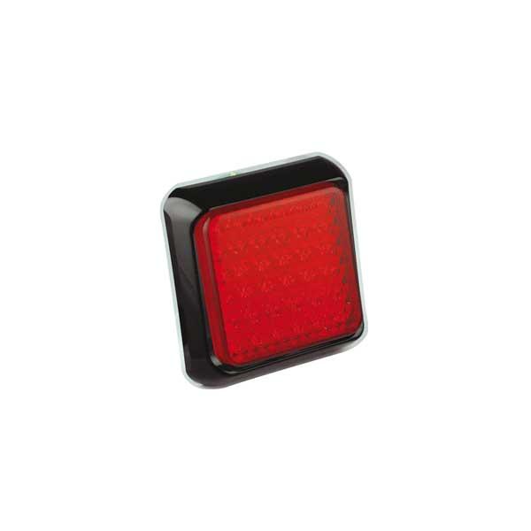 125RME LED-Kombileuchte, Stop-/Schlusslicht, Montagerahmen schwarz
