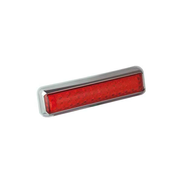 200CRME LED-Kombileuchte, Stop-/Schlusslicht, Montagerahmen chrom
