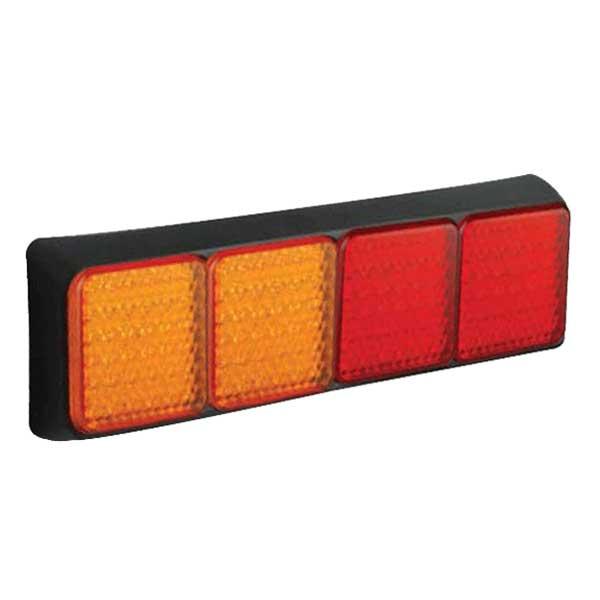 100BAARRME LED-Leuchtenkombination, je 2 Stop/Schlusslicht/Fahrtrichtungsanzeiger