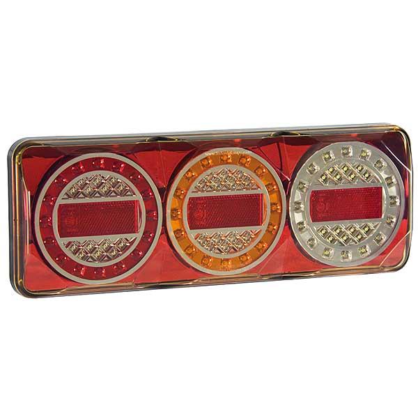 3XRW LED-Mehrkammerleuchte, Stop-/Schlusslicht/Fahrtrichtungsanzeiger/Retourscheinwerfer/Reflektor
