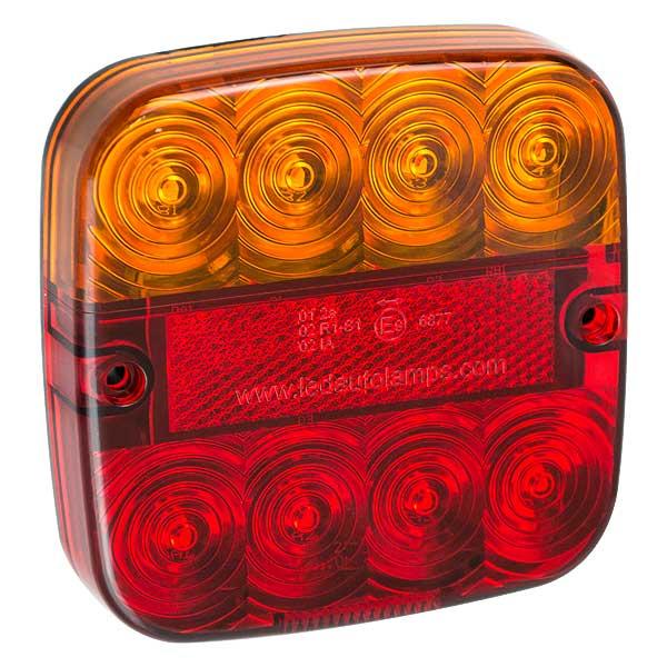 SERIE 99ARL2, LED-Heckleuchte, Stop-/Schlusslicht/Fahrtrichtungsanz./Kennzeichenbel., Set aus 2 Stk.