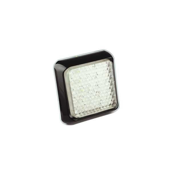 80WME LED-Retourscheinwerfer, Montagerahmen schwarz