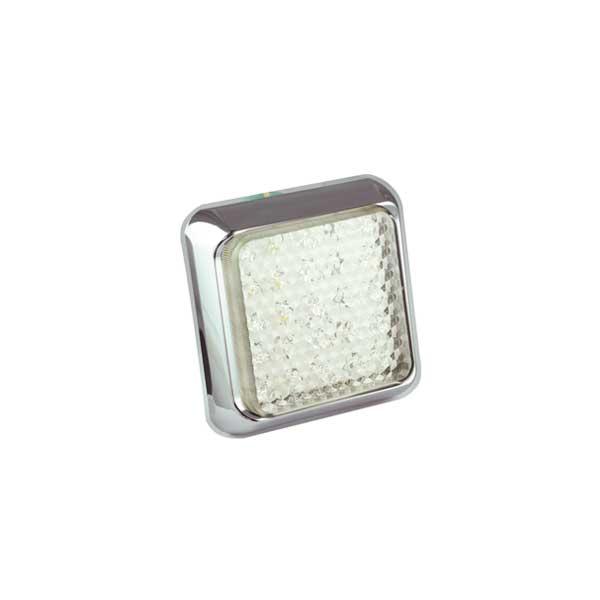80CWME LED-Retourscheinwerfer, Montagerahmen chrom