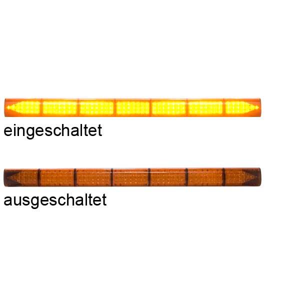 LED-TRAFFICMASTER, 10-30VDC, Warnfarbe gelb, 7 LED-Module, inkl. Deluxe-Steuergerät