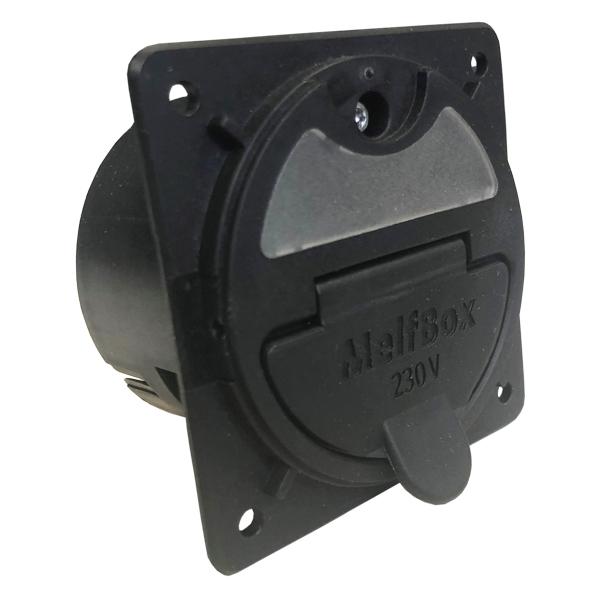 MelfBox Einspeisesystem-Fahrzeugseite, für Versorgung 230VAC