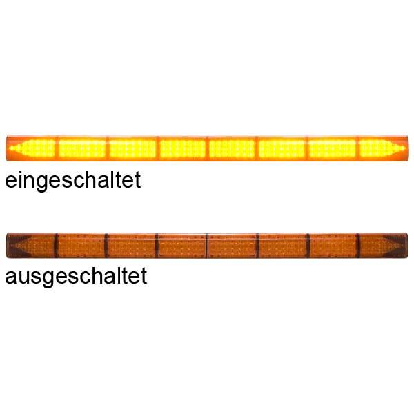 LED-TRAFFICMASTER, 10-30VDC, Warnfarbe gelb, 8 LED-Module, inkl. Deluxe-Steuergerät