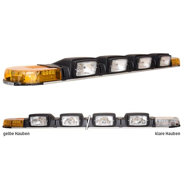 XPERT 4PRO-4H4, L=171cm, 24VDC, Warnfarbe gelb, Haubenfarbe klar