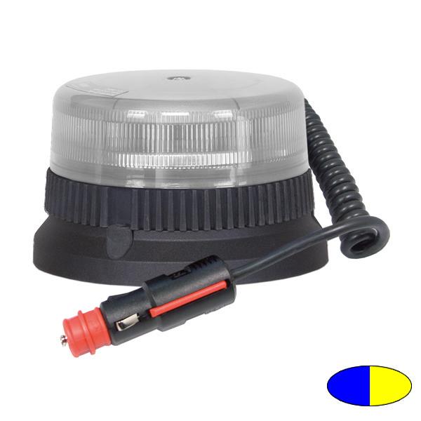 FLEXILED TWICE 9 T1, 12VDC, Warnfarben blau/gelb, Magnethalterung