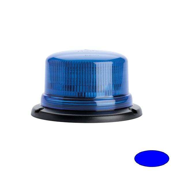 SERIE 510 LED-Kennleuchte, 10-30VDC, Warn-u.Haubenfarbe blau, 3-Lochbefestigung