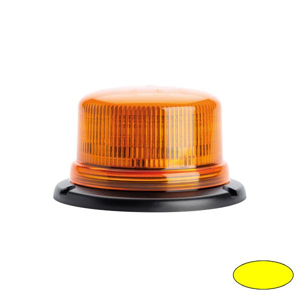 SERIE 510 LED-Kennleuchte, 10-30VDC, Warn-u.Haubenfarbe gelb, 3-Lochbefestigung