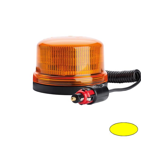 SERIE 510 LED-Kennleuchte, 10-30VDC, Warn-u.Haubenfarbe gelb, Magnethalterung