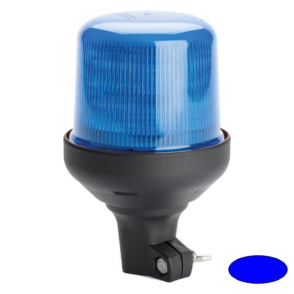 SERIE 515 LED-Kennleuchte, 10-30VDC, Warn-u.Haubenfarbe blau, DIN-A Stecksockel