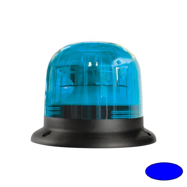 EUROROT-LED B, 10-30VDC, Warn-u.Haubenfarbe blau, 3-Lochbefestigung