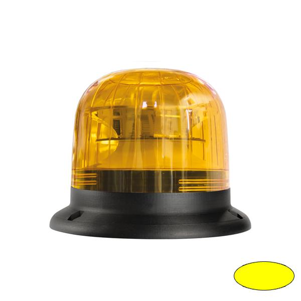 EUROROT-LED B, 10-30VDC, Warn-u.Haubenfarbe gelb, 3-Lochbefestigung