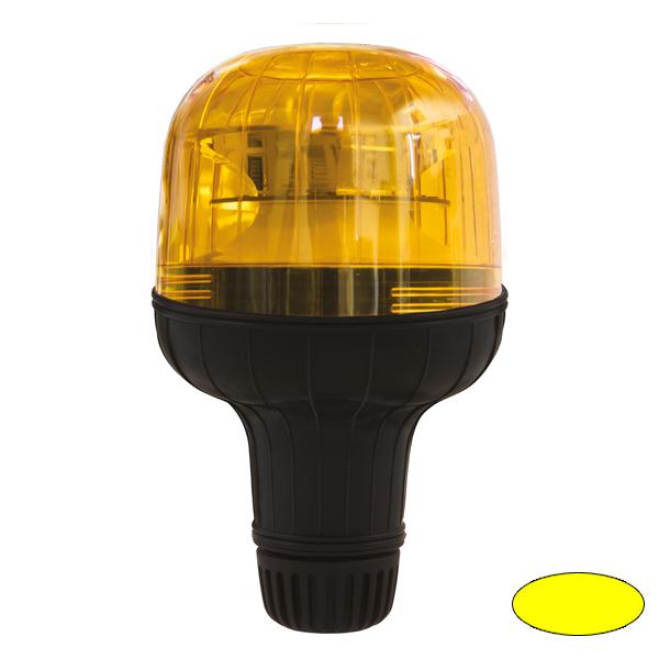 EUROROT-LED FLX, 10-30VDC, Warn-u.Haubenfarbe gelb, DIN-A Stecksockel