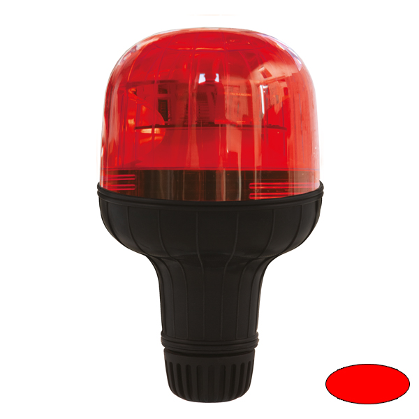 EUROROT-LED FLX, 10-30VDC, Sonder-u.Haubenfarbe rot, DIN-A Stecksockel