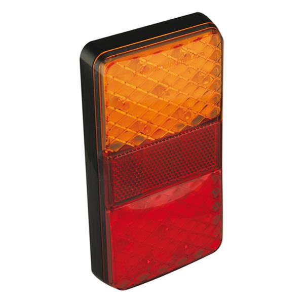 150BARE LED-Mehrkammerleuchte, Stop-/Schlusslicht/Fahrtrichtungsanzeiger, 12VDC