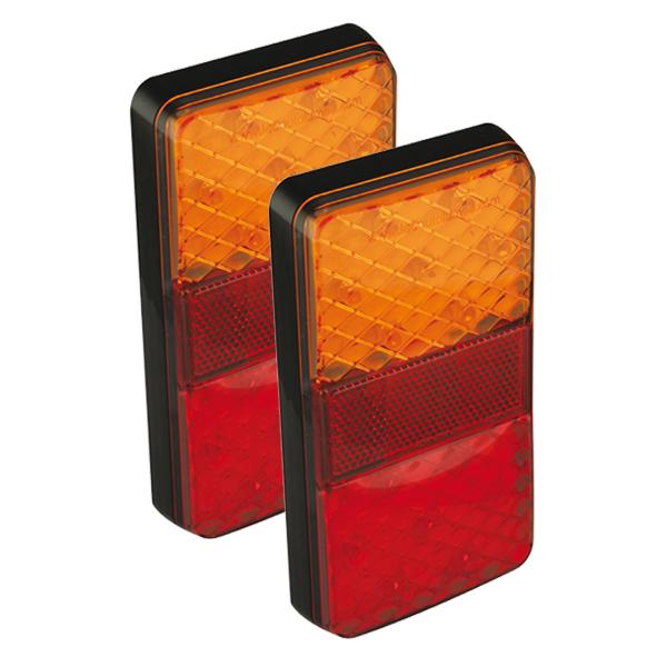 150BARE2 LED-Mehrkammerleuchte, Stop-/Schlusslicht/Fahrtrichtungsanzeiger, 12VDC, 2 Stk.