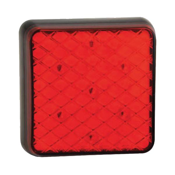 81RME LED-Kombileuchte, Stop-/Schlusslicht, Montagerahmen schwarz