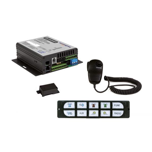 EUROSMART GEN2 Bedien-, Akustik- u. Leistungssystem, 24VDC, Version E2, Österreich