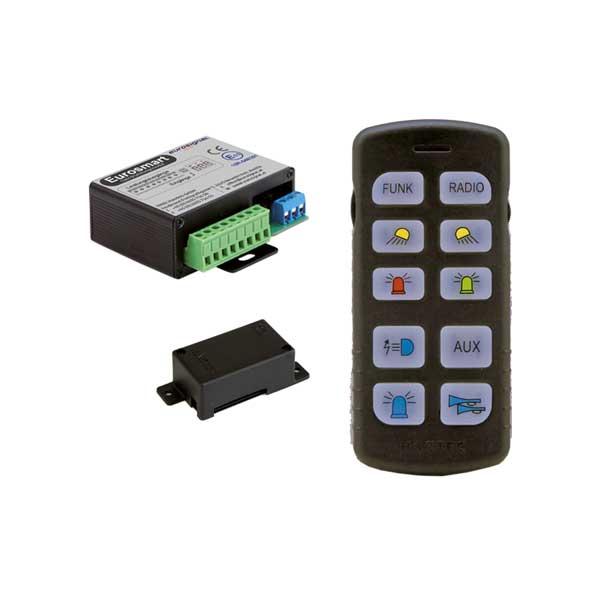 EUROSMART GEN2 Bedien- u. Leistungssystem Version D2, Österreich, 10-30VDC
