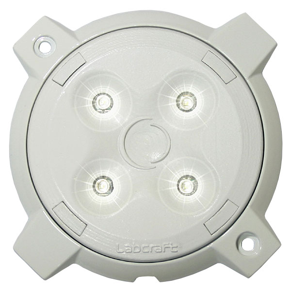 MEGALUX PD1_4-1/2EPIR, 24VDC, 4x 1W CREE-LEDs, 480lm, integrierter Bewegungsmelder
