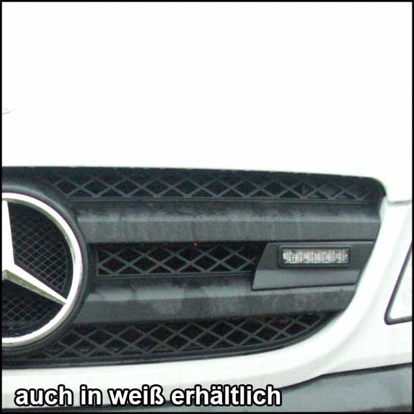 Montagerahmenset für Kühlergrill Mercedes Sprinter Baureihe 906 (BJ ab 09/2013), Farbe: schwarz